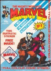 Mighty World Of Marvel Monthly UK (1983 Series)